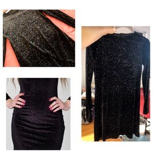 American Apparel Cali Fun&Sun glitter velvet dress
